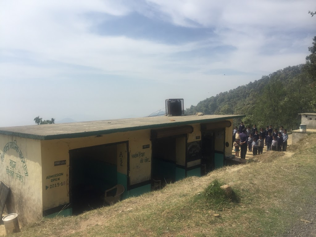 Workshops at schools in Maram, Chanoli and Satoli villages in the Himalayas, April 2016