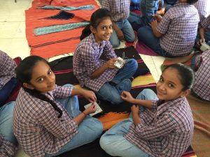 Workshop at The White Eagles School, village Devpur, Kutch, Gujarat, April 2016