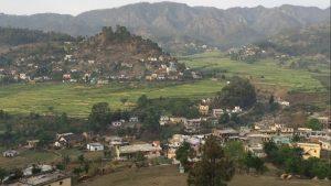 Workshop at Hiteshi, a rural school in village Dyunai in the Himalayas, April 2016